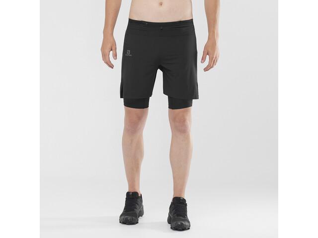 Salomon Exo Motion Twinskin Shorts Heren, black
